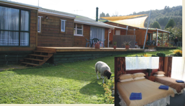 Aria's Farm Accommodation in Rotorua Cottage, Cabin plus Bed & Breakfast