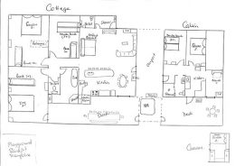 Floor Plan of Cottage & Cabin